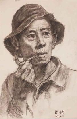 梅小琴《吸烟的男人》